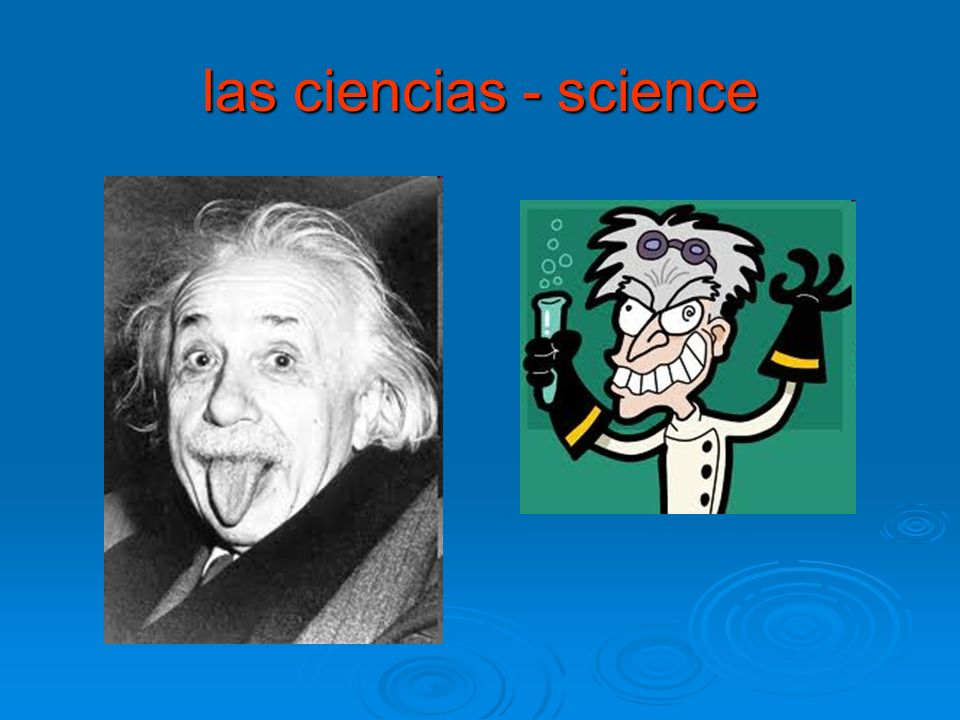 las ciencias - science