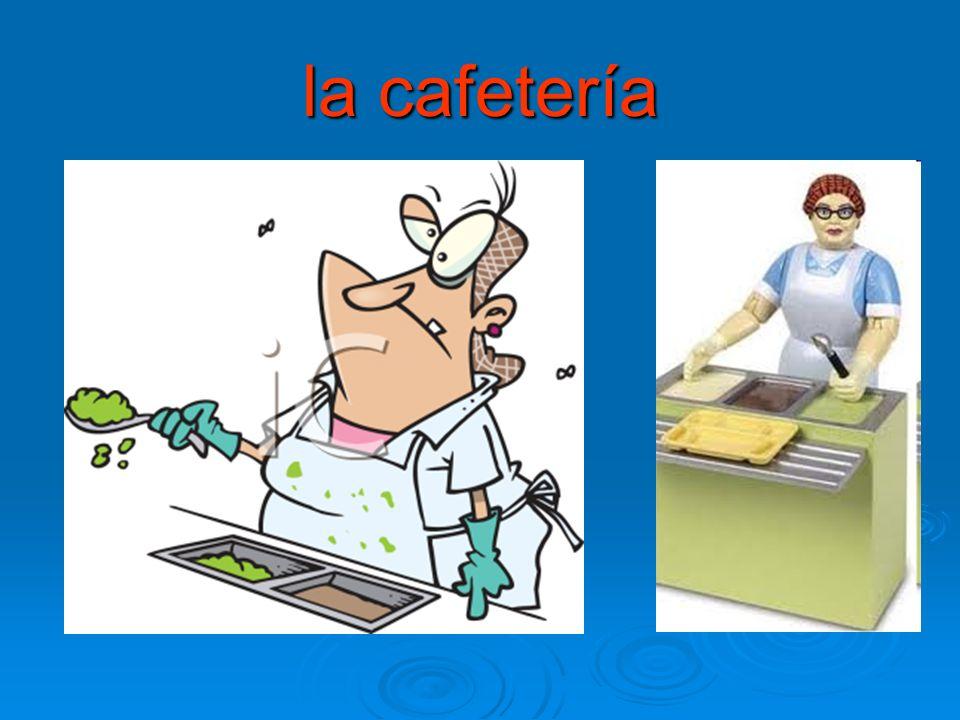 la cafetería