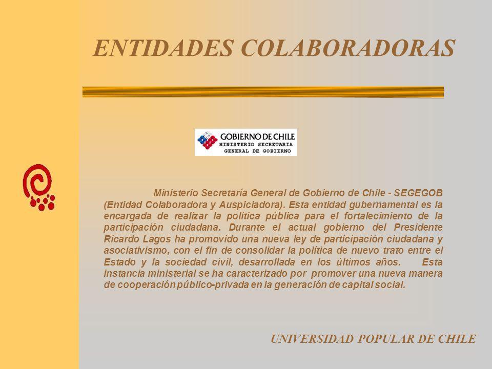 ENTIDADES COLABORADORAS