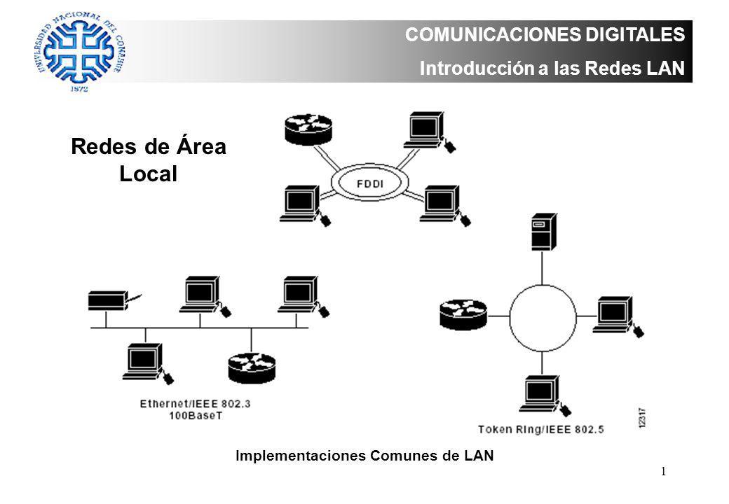 Implementaciones Comunes de LAN