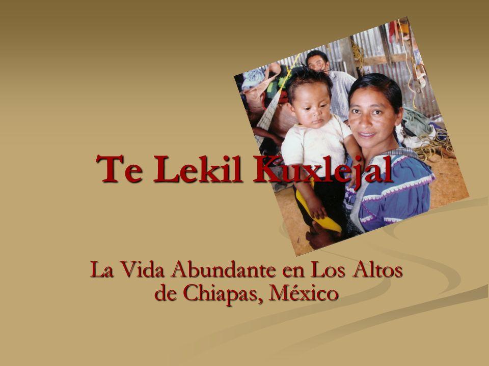La Vida Abundante en Los Altos de Chiapas, México
