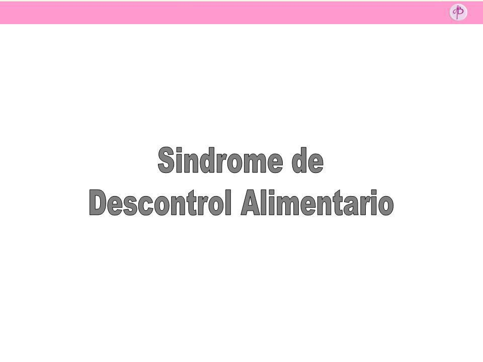 Descontrol Alimentario