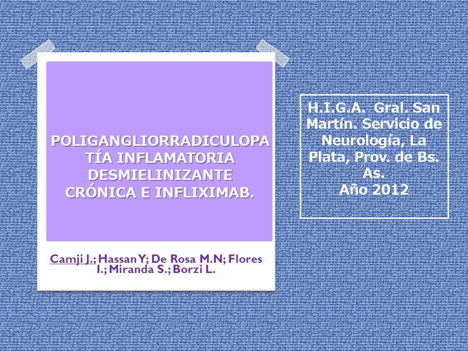 Camji J.; Hassan Y; De Rosa M.N; Flores I.; Miranda S.; Borzi L.