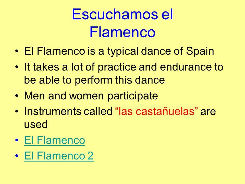 Escuchamos el Flamenco