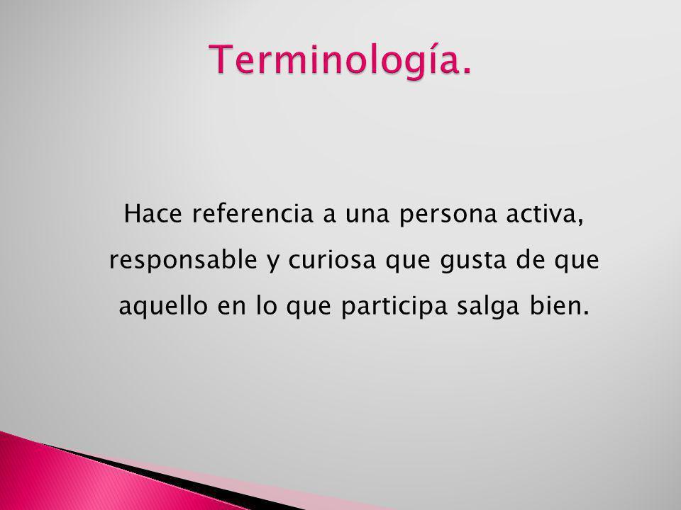 Terminología.