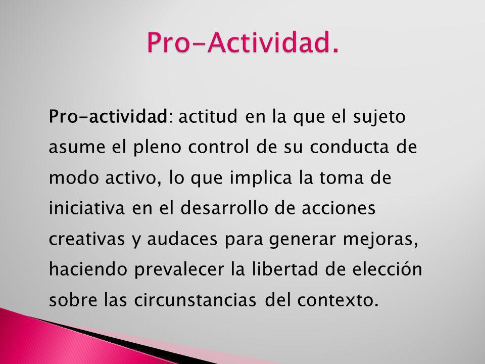 Pro-Actividad.