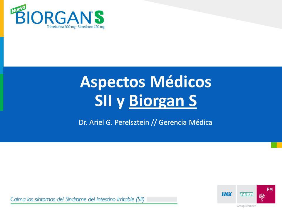 Dr. Ariel G. Perelsztein // Gerencia Médica
