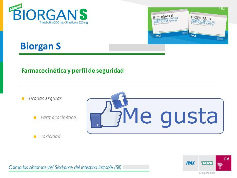Biorgan S Farmacocinética y perfil de seguridad Drogas seguras