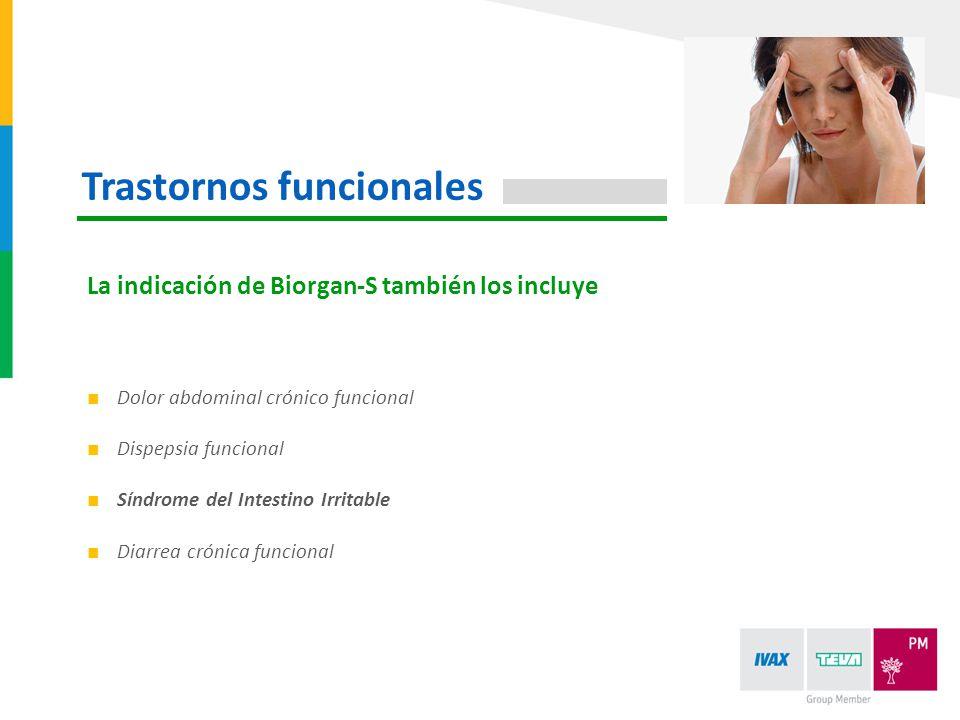 Trastornos funcionales