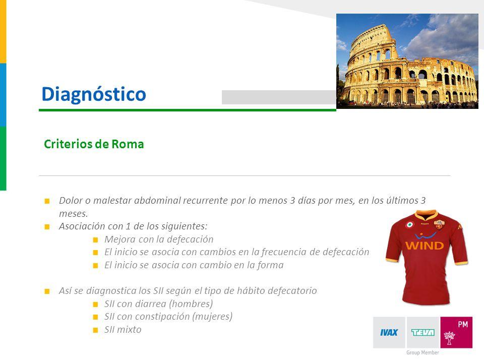 Diagnóstico Criterios de Roma