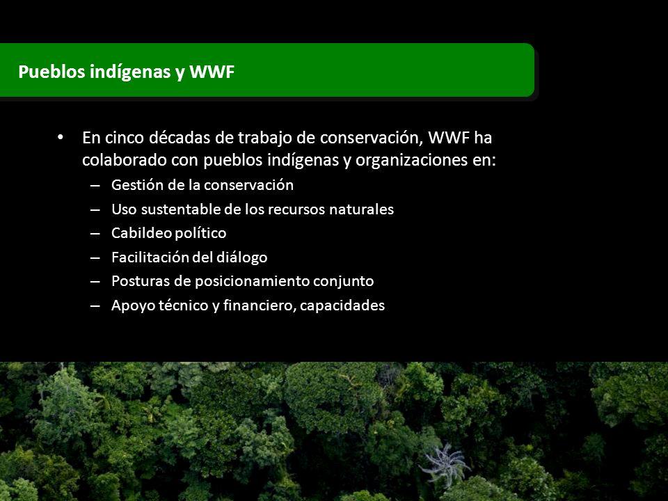 Pueblos indígenas y WWF