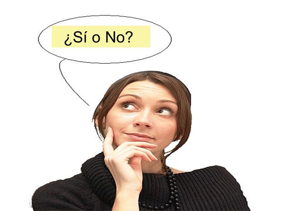 ¿Sí o No