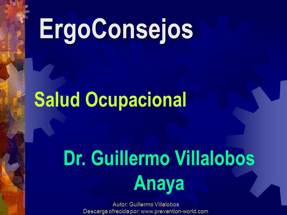 Dr. Guillermo Villalobos
