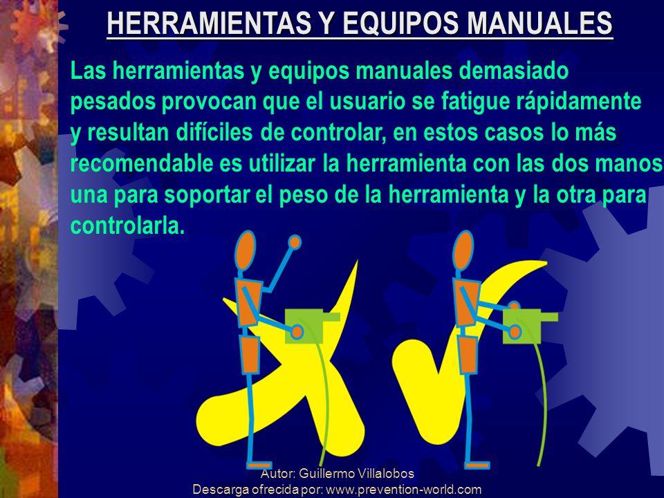HERRAMIENTAS Y EQUIPOS MANUALES