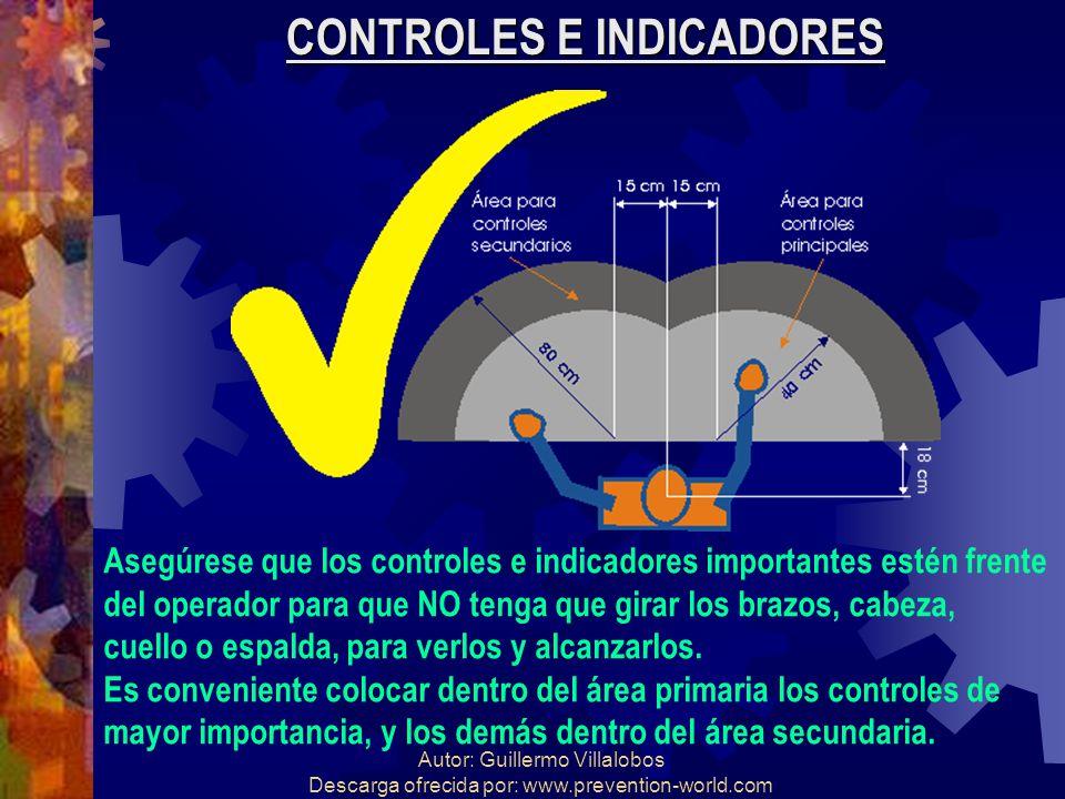CONTROLES E INDICADORES