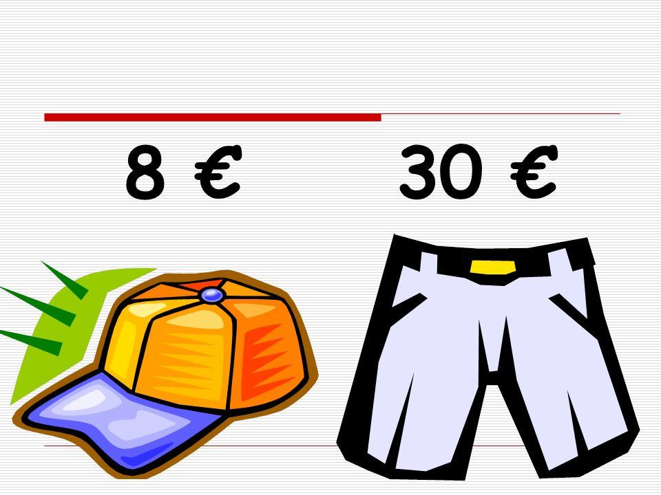 8 € 30 €