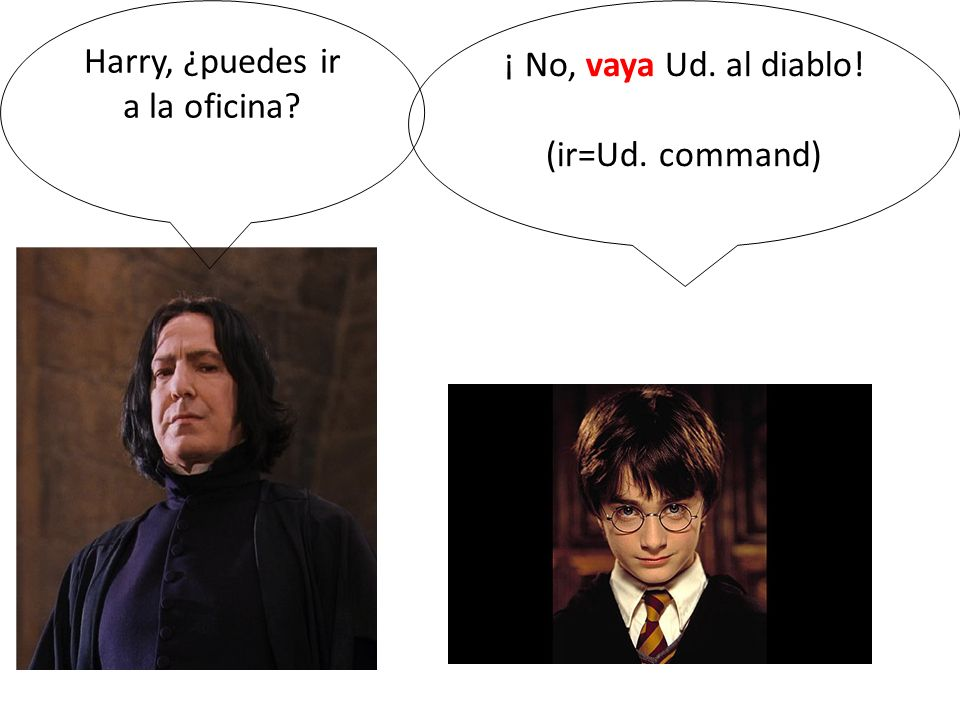 Harry, ¿puedes ir a la oficina