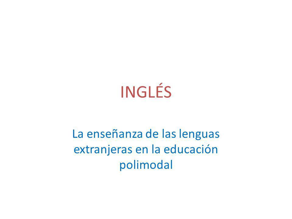 La enseñanza de las lenguas extranjeras en la educación polimodal