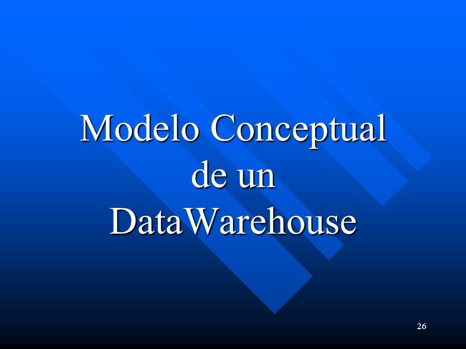 Modelo Conceptual de un DataWarehouse