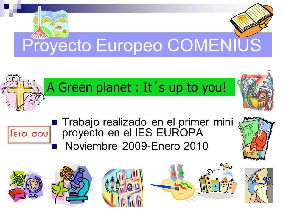 Proyecto Europeo COMENIUS