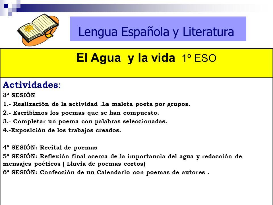 Lengua Española y Literatura