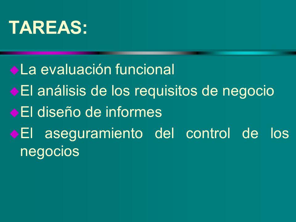 TAREAS: La evaluación funcional
