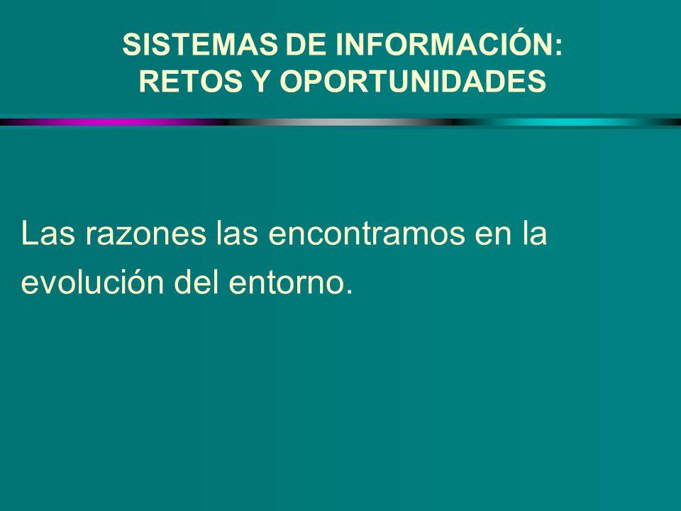 SISTEMAS DE INFORMACIÓN: RETOS Y OPORTUNIDADES