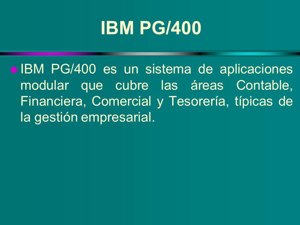 IBM PG/400