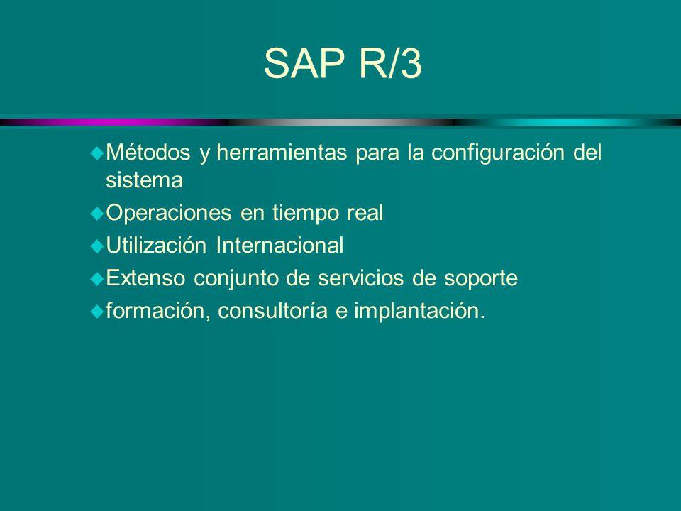 SAP R/3 Métodos y herramientas para la configuración del sistema