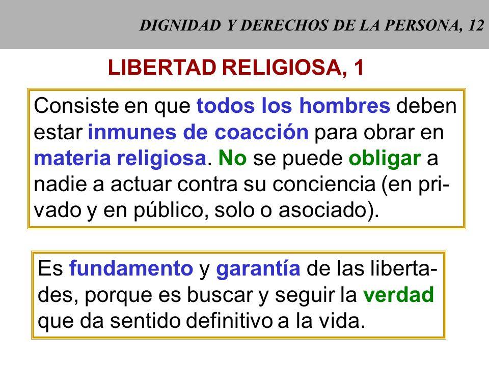 DIGNIDAD Y DERECHOS DE LA PERSONA, 12