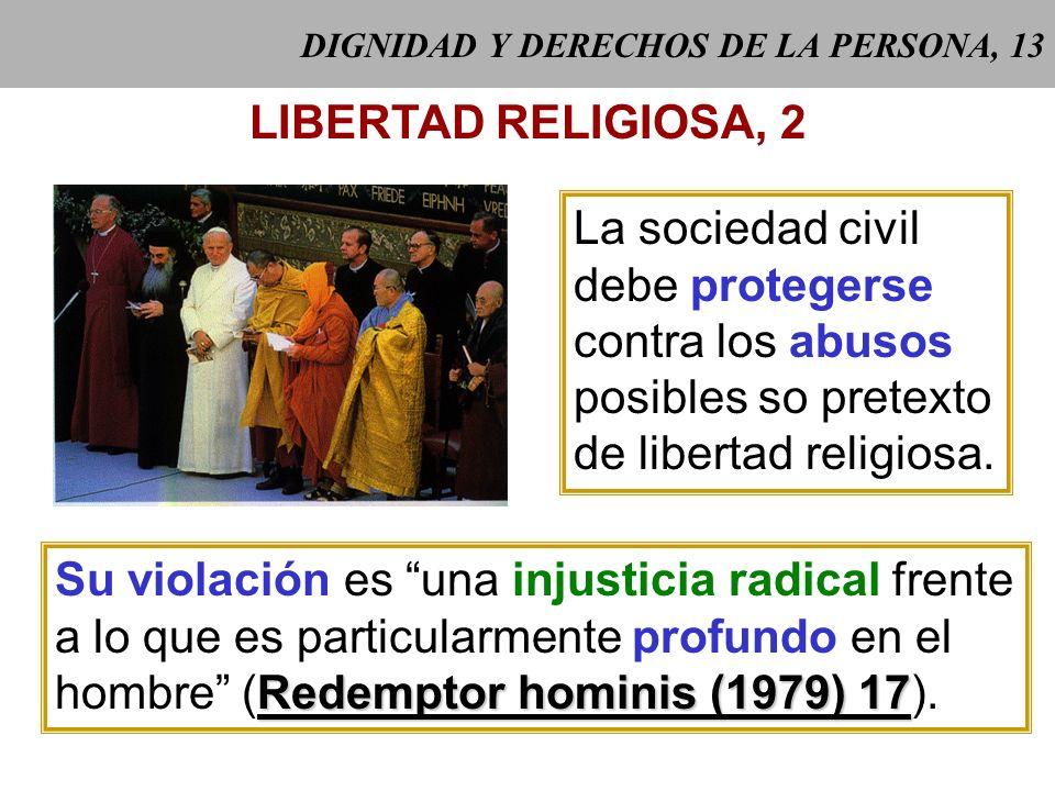 DIGNIDAD Y DERECHOS DE LA PERSONA, 13