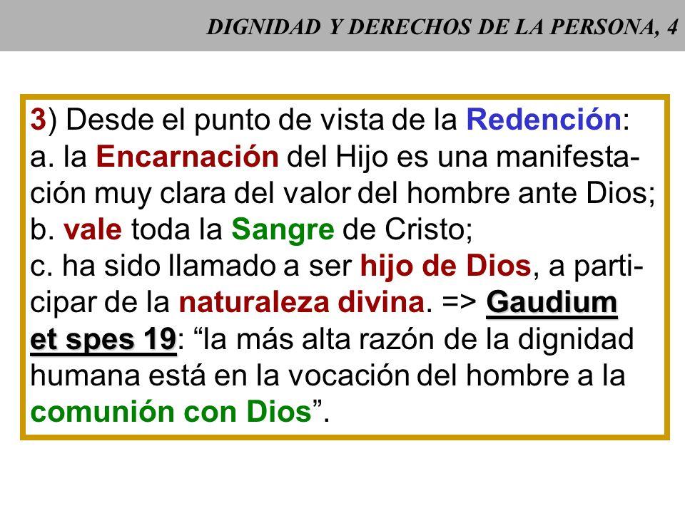 DIGNIDAD Y DERECHOS DE LA PERSONA, 4