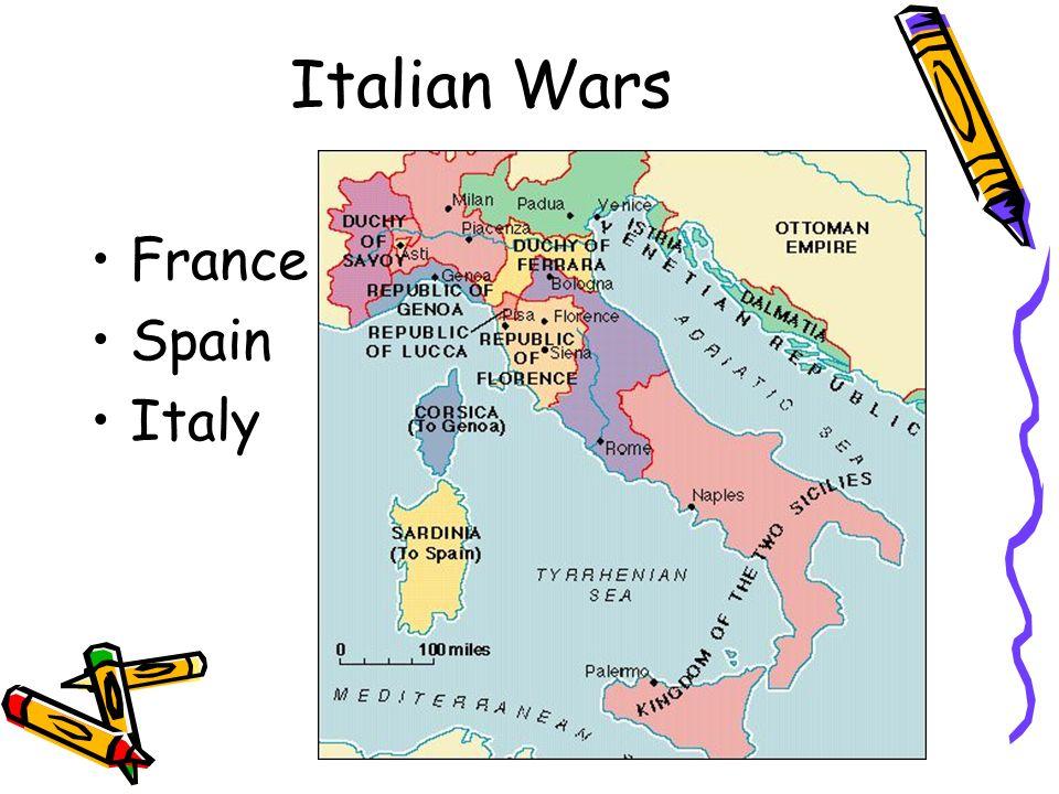 Italian Wars France Spain Italy