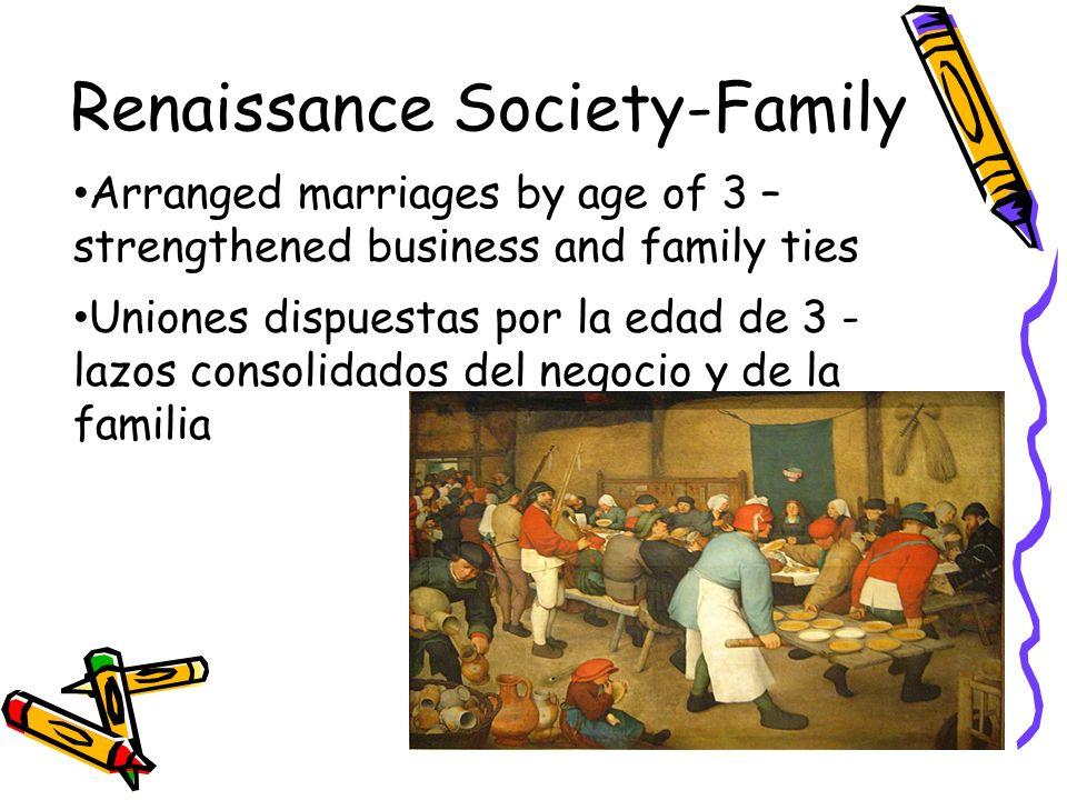 Renaissance Society-Family