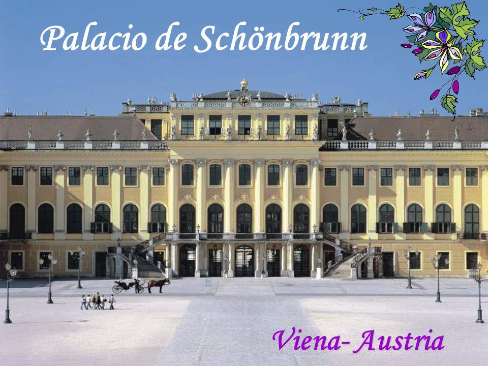 Palacio de Schönbrunn Viena- Austria