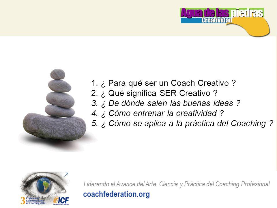 1. ¿ Para qué ser un Coach Creativo