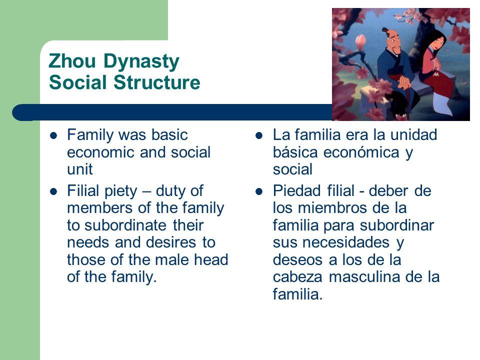 Zhou Dynasty Social Structure