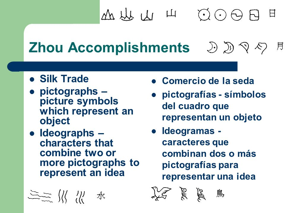 Zhou Accomplishments Silk Trade