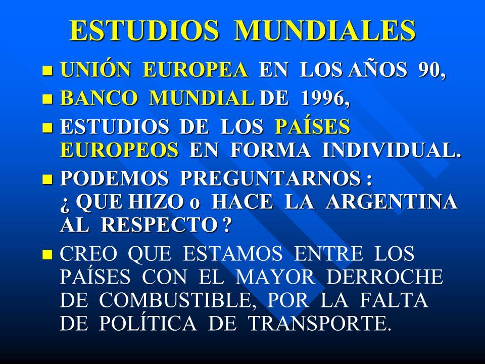 ESTUDIOS MUNDIALES UNIÓN EUROPEA EN LOS AÑOS 90,