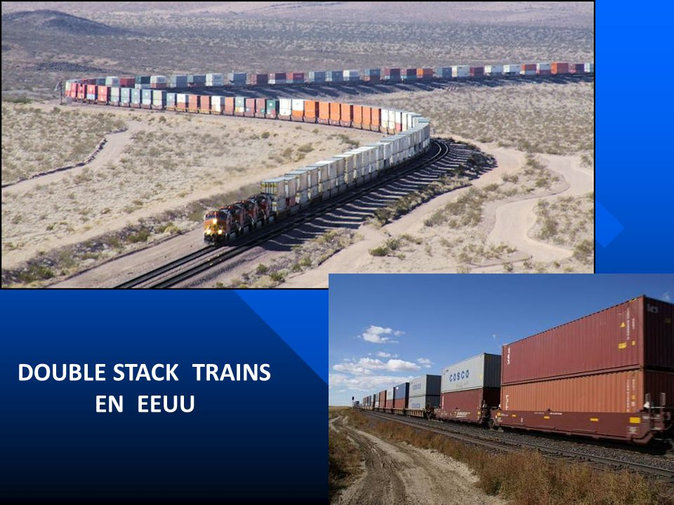 DOUBLE STACK TRAINS EN EEUU