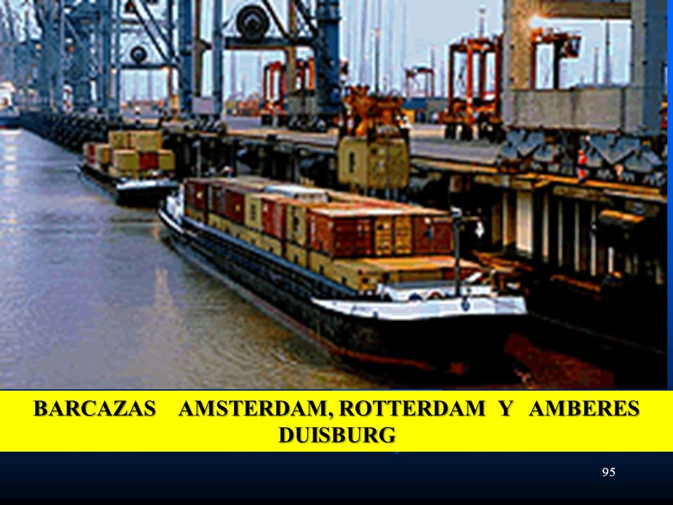 BARCAZAS AMSTERDAM, ROTTERDAM Y AMBERES DUISBURG