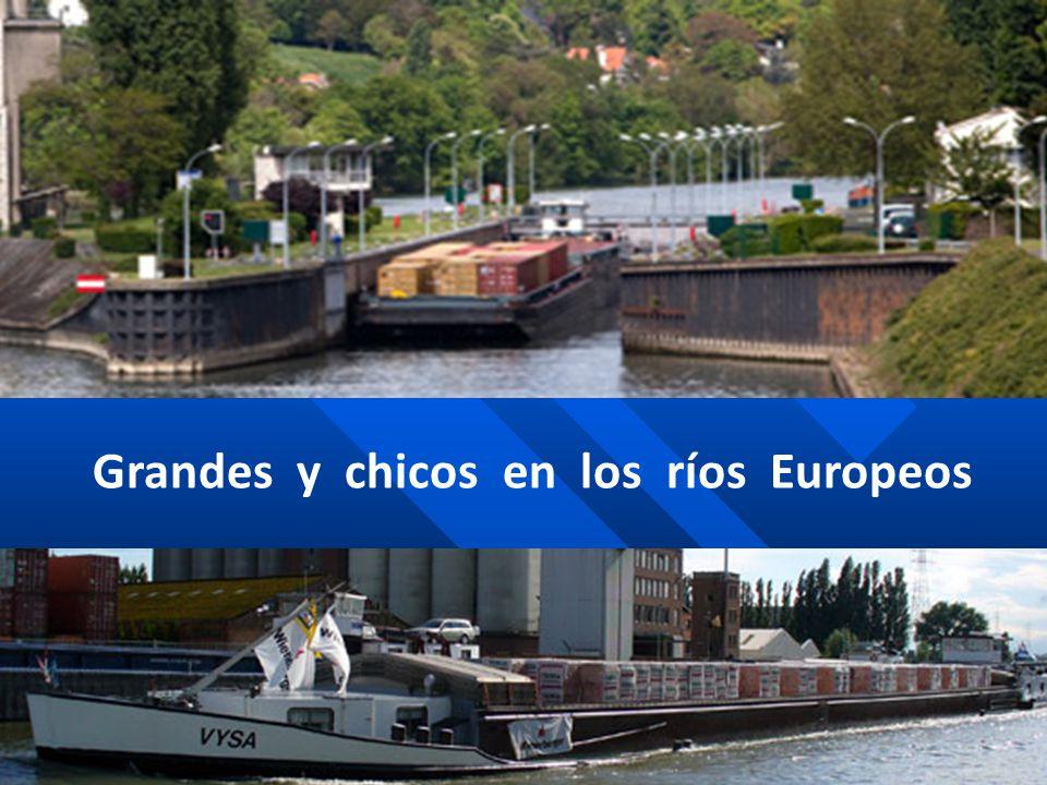 Grandes y chicos en los ríos Europeos