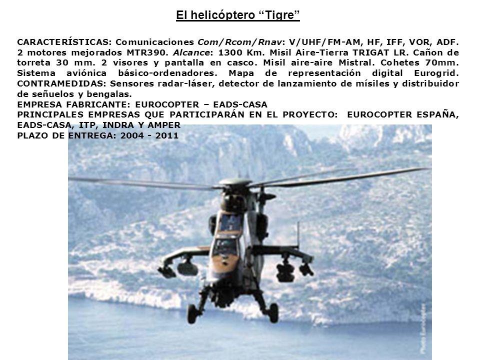 El helicóptero Tigre