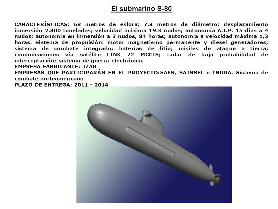 El submarino S-80