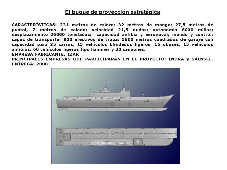 El buque de proyección estratégica