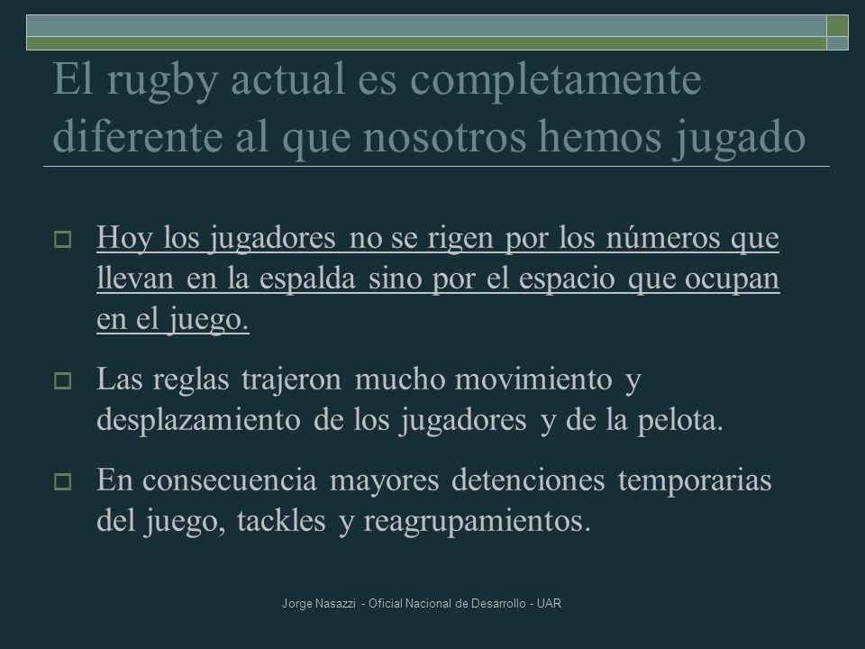 Jorge Nasazzi - Oficial Nacional de Desarrollo - UAR