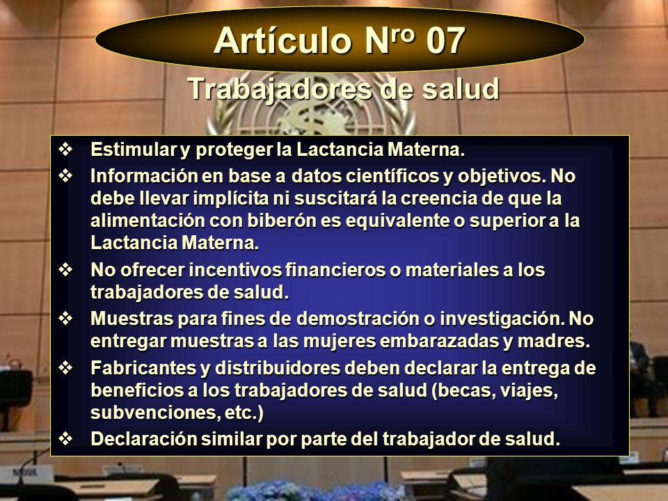 Artículo Nro 07 Trabajadores de salud