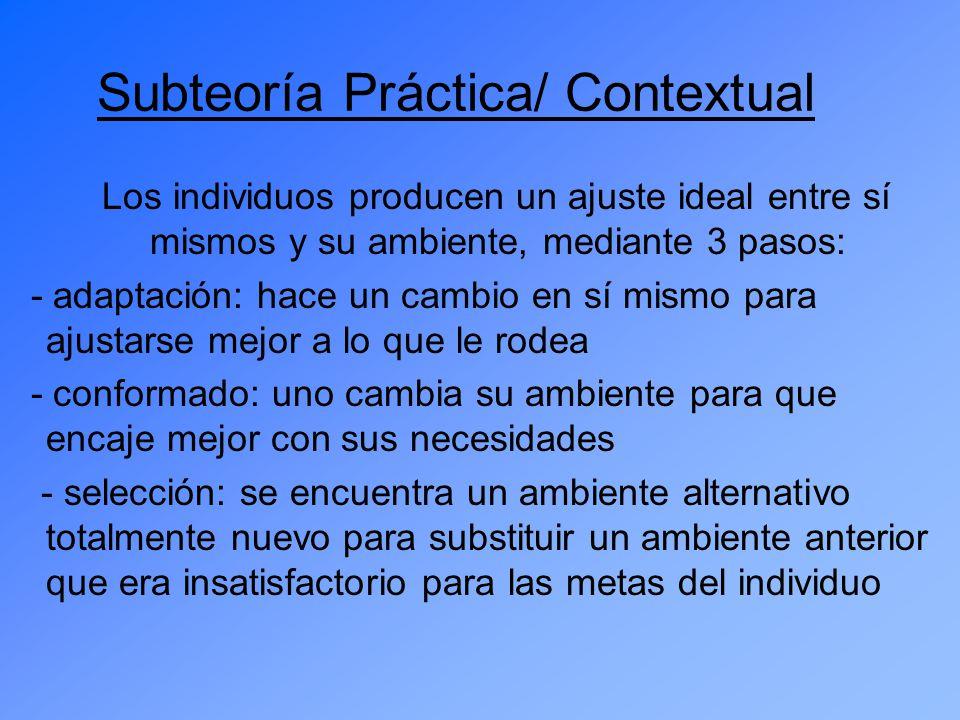 Subteoría Práctica/ Contextual
