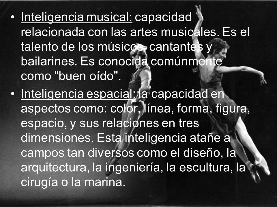 Inteligencia musical: capacidad relacionada con las artes musicales