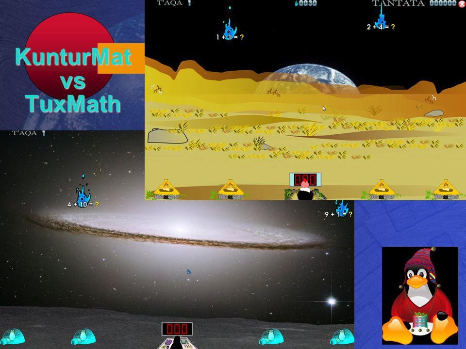 KunturMat vs TuxMath